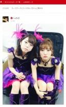 """【エンタがビタミン♪】たかみなと峯岸、AKB48の""""Wみなみ""""がスーツケースに入る。"""