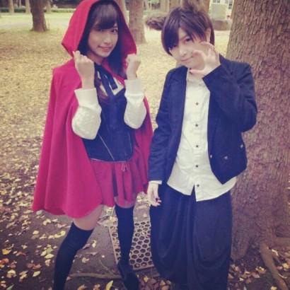 """【エンタがビタミン♪】AKB48・岩田華怜の『おおかみは赤ずきんに恋をした """"踊ってみた""""』に本家が反応。"""