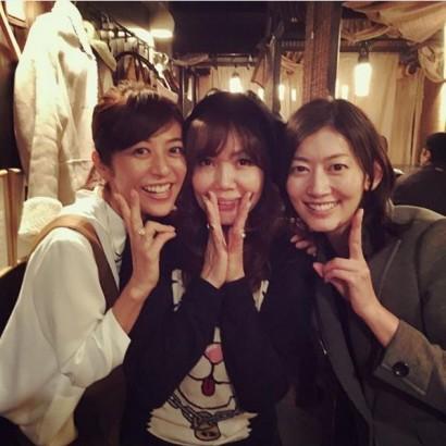 【エンタがビタミン♪】佐藤藍子に「変わらない」の声。小川菜摘が白石美帆と3人のレアショット。