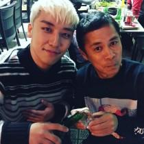 【エンタがビタミン♪】岡村隆史&スンリのショットに憶測。BIGBANGファンは「OKABANGとしてライブ出没?」