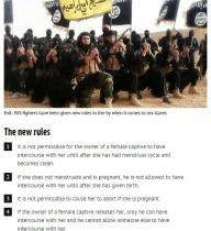 """【海外発!Breaking News】米軍特殊作戦部隊、なぜか隠していた「ISにおける""""女の扱い""""15条」"""