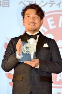 「子育ては完璧!」カップル部門を受賞した藤本敏史