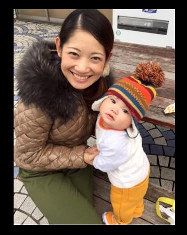 大渕愛子と愛息侑生くん(画像は『大渕愛子オフィシャルブログ』より)