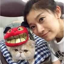 """【エンタがビタミン♪】篠原涼子を猫のマッシュが訪問。『オトナ女子』の""""ちくわ""""が目的?"""