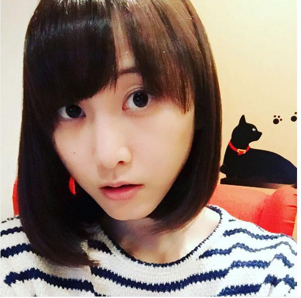 普段の松井玲奈。(画像は『instagram.com/renamatui27』より)