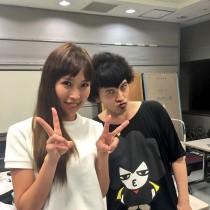 【エンタがビタミン♪】パークマンサーが梅田彩佳を祝福「今度一緒に軟式globeカバーしよ」