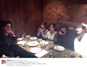 AKB48の仕掛け人、総監督、名誉センター、次期総監督、影の総監督(画像は『高橋みなみ ツイッター』のスクリーンショット)