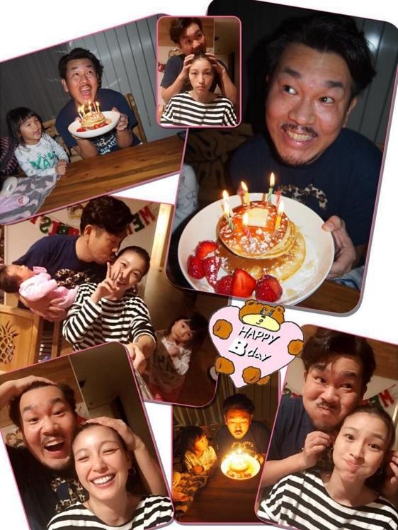 18日の藤本敏史の誕生日、一家で賑やかにお祝い(画像は『木下優樹菜 Instagram』より)