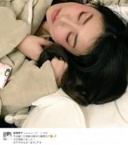 """【エンタがビタミン♪】前田敦子が撮った""""大島優子の寝顔""""が「天使」"""
