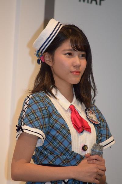 沖縄のコンサートでは「水鉄砲を使いたい」と語った舞木香純