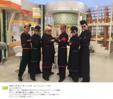 【エンタがビタミン♪】氣志團に新メンバー? 綾小路翔のRT画像に謎の人物