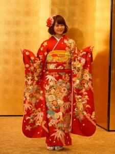 HKT48からただひとり参加した穴井千尋