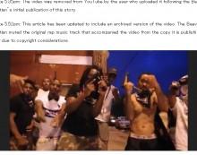 【海外発!Breaking News】IS戦闘員さながら 米ラッパー集団、MVにドラッグ・銃・女性暴行シーン満載