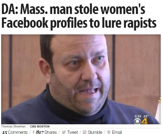 Facebook不正侵入の男、女性をアダルトサイトに登録(出典:http://www.cbsnews.com)