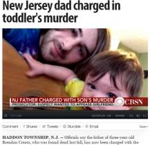 【海外発!Breaking News】「新しい彼女が子供嫌いだから」22歳シングルファーザー、愛息を殺害(米)