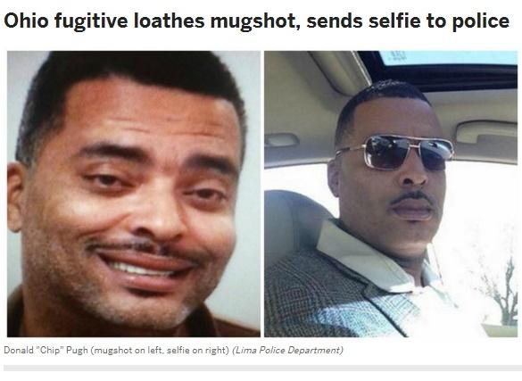 【海外発!Breaking News】「俺のマグショット、これに替えて」勘違い写真を警察署に送った容疑者(米)