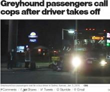 【海外発!Breaking News】米グレイハウンド・バスの乗客、数時間待ちぼうけ 運転手現れず