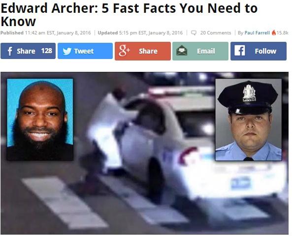【海外発!Breaking News】米フィラデルフィアでムスリムが警官を銃撃 ISに傾倒か