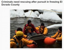 【海外発!Breaking News】捕まる寸前に逃走した男達、寒さのあまり「助けて」と911コール(米)