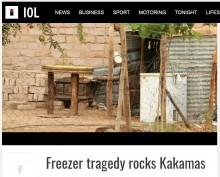【海外発!Breaking News】使っていない冷凍庫で遊んでいた子供5人、鍵がかかり窒息死(南ア)