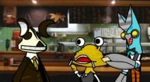 【エンタがビタミン♪】バルタン星人が店長、カネゴンがレジ係 アニメ『怪獣酒場 カンパーイ!』コラボ新作公開