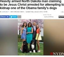 【海外発!Breaking News】完全武装の男、オバマ大統領ファミリーの愛犬誘拐を試みる(米)