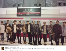 【エンタがビタミン♪】EXILEの巨大ポスターを前に、松尾スズキ「うつむくしかない」