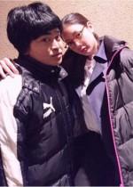 【エンタがビタミン♪】菜々緒と加藤諒 『怪盗 山猫』オフショットに「顔の大きさが!」