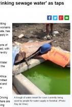 【海外発!Breaking News】南アフリカ内陸部で深刻な水不足 下水を飲む人、自殺者も