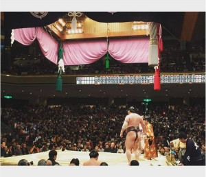大島優子撮影の大相撲初場所(出典:https://www.instagram.com/yuk00shima)