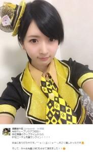 NMB48・須藤凜々花(出典:https://twitter.com/riripon48)