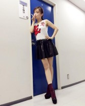 【エンタがビタミン♪】平子理沙、アイドルに負けない超ミニ姿披露
