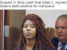 【海外発!Breaking News】37名死傷のラスベガス歩道乗り上げ事故、犯人は大麻でハイだった