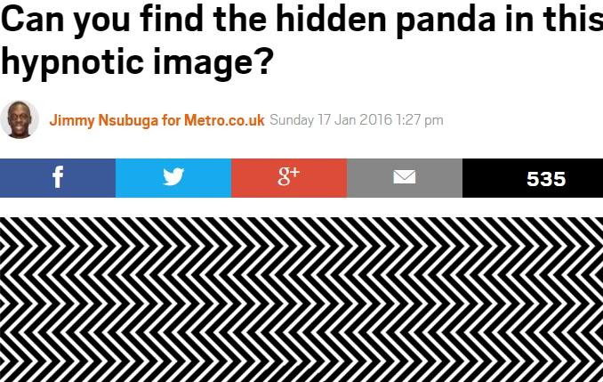 【海外発!Breaking News】ロシアの芸術家によるミラクルな「だまし絵」 何が隠れている!?