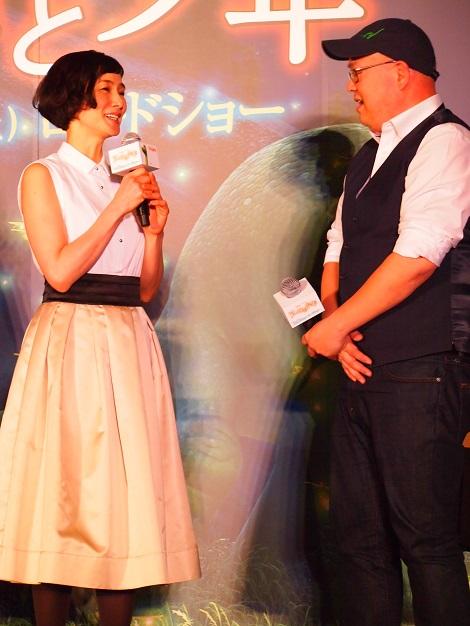 ソーン監督にお会いしたかったと安田成美