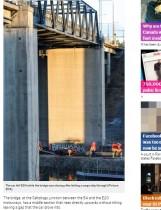 【海外発!Breaking News】英インディーポップバンドを乗せたSUV、橋から転落し全員死亡