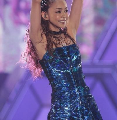 【エンタがビタミン♪】歌姫・安室奈美恵が魅せた! 筋肉美に大人の色気 キレキレダンスにファン熱狂