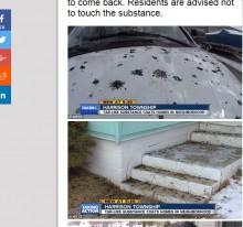 【海外発!Breaking News】空からネットリした「黒い雨」 米ミシガン州のある町で