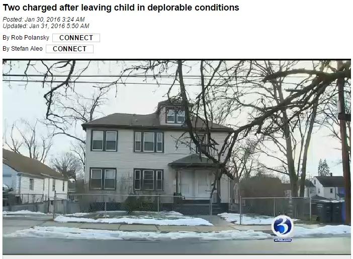 【海外発!Breaking News】アパートの水漏れで「育児放棄」発覚 2歳児は汚物まみれ(米)