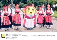 """【エンタがビタミン♪】ふなっしー、マカオでは""""梨妖"""" 伝統衣装に「可愛すぎるなっしー!」"""