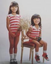 【エンタがビタミン♪】華原朋美 弟との幼少期ショットに反響「姉妹みたい」