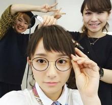 【エンタがビタミン♪】木村文乃の丸メガネ姿にファン絶賛「可愛い! 似合ってます」