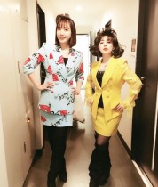 【エンタがビタミン♪】大貫亜美と土岐麻子、懐かしのバブリー姿で吉村由美の誕生日を祝福
