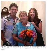 【海外発!Breaking News】「私に大金は似合いません」90歳米女性、宝くじで48億円当選もすべて親族に分配