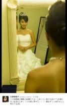 【エンタがビタミン♪】こじるり、3年前のウエディングドレス姿にショック お酒で太った!?