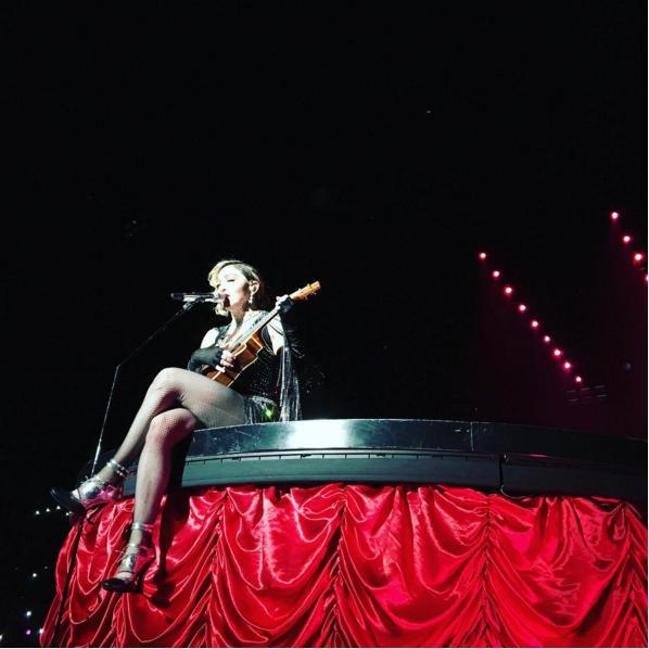 【エンタがビタミン♪】篠田麻里子 マドンナ日本公演で大当たり「席が凄すぎて運使った」