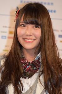 映画祭のアイドルステージでの振りに期待してほしいと話す、白間美瑠