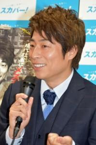 新番組での企画を楽しそうに提案する 田村淳