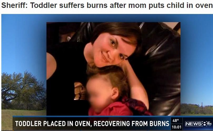 【海外発!Breaking News】2歳娘をオーブンの中へ 35歳母、近所の評判は良く(米)