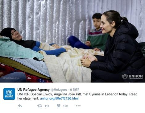 【イタすぎるセレブ達・番外編】アンジェリーナ・ジョリー、レバノンで難民少女と再会